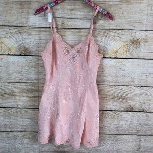 Victoria's Secret vintage light pink teddy, size M